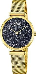 Reloj Lotus SeÑora Dorado Cristal Swarovski 18565/2