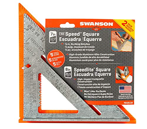 2-Pack Speed Square Layout Tools