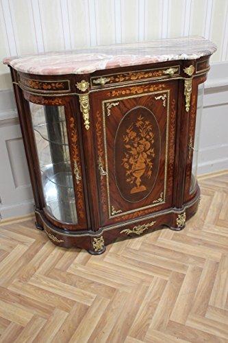 Barock Anrichte Antik Stil Kommode Marmor Barock Antik Stil LouisXV  MkMo0087Ro Antik Stil Massivholz. Replizierte Antiquitäten Von LouisXV  Buche (Ahorn, ...