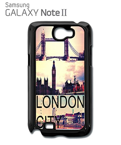 London City Big Ben Tower Brigde Retro Cool Funny Hipster Swag Mobile Phone Case Back Cover Hülle Weiß Schwarz for Samsung Galaxy S5 Mini Black Weiß