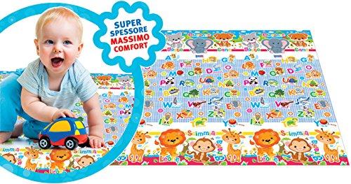 RSToys 9597 Tappeto Maxi Primi Giochi Super Spessore - ideale per il gattonamento