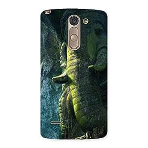 Premium Rock Ganesha Back Case Cover for LG G3 Stylus