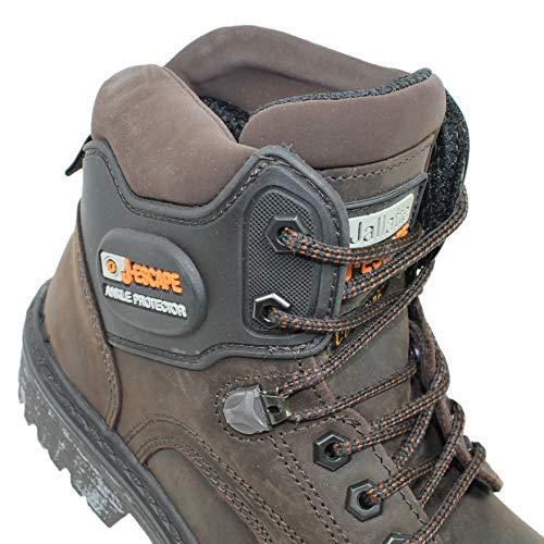 Scarpe di Sicurezza Jallatte Jalirock SAS S3 HRO SRC Scarpe Professionali B-Ware Lavoro Scarpe