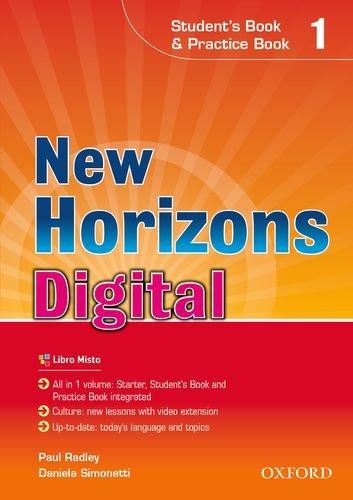 New horizons digital. Student's book-Workbook. Per le Scuole superiori. Con e-book. Con espansione online: 1