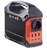 revolt Powerstation: Convertisseur Solaire & Power Bank 42 Ah, 1 x 230 V, 3 x 12 V & USB 180 W (générateur Solaire et Powerbank)...
