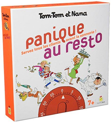 Jeu Tom-Tom et Nana - Panique au resto par Catherine Viansson Ponte