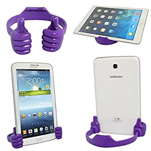 Universal Flexible Thumb Holder Stand Mount for Apple iPad Mini, iPhone, Smartphones and Android Tablets