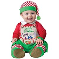 Baby Deluxe Boys Girls Santa's Little Helper-Elfo In Character-Costume da