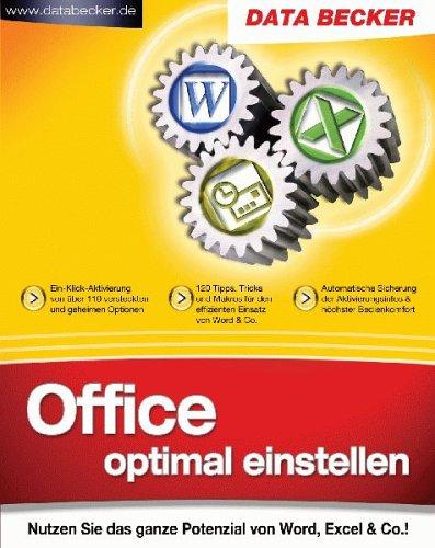 office-optimal-einstellen