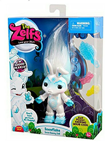 ZELFS The Large - Snow Bunny Doll by ZELFS