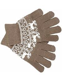 Adult Fairisle Touch Screen Gloves