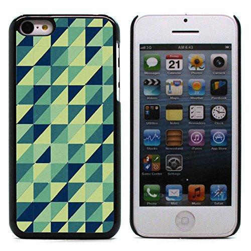 Graphic4You PLAID Muster Harte Hülle Case Tasche Schutzhülle für Apple iPhone 5C Design #8