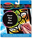 Melissa & Doug Scratch Magic Flower Light Catcher Fun Kit