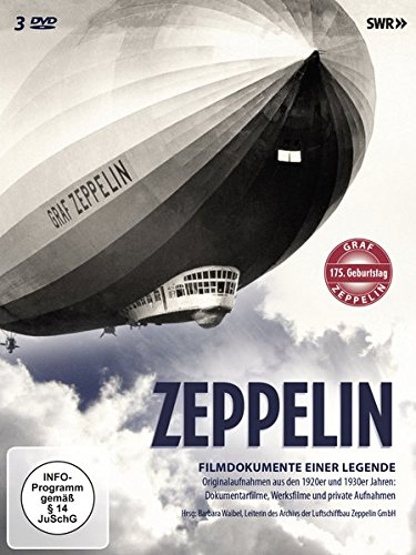 Zeppelin - Filmdokumente einer Legende [3 DVDs]