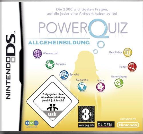Power Quiz: Allgemeinbildung