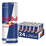 Red Bull Energy Drink 250ml, Cartone da 24 Lattine