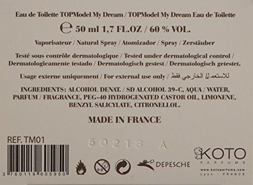 TOPModel My Dream, Eau de Toilette, 1er Pack (1 x 50 ml)