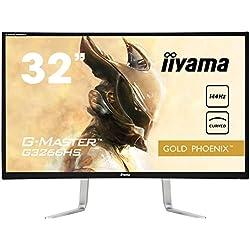 "Iiyama G3266HS-B1 Ecran PC LED 31, 5"" 1920X1080 Pixels Full HD 10 ms Noir"