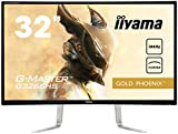"""iiyama G-Master G3266HS-B1 31.5"""" Full HD LED Mat Courbé Noir écran Plat de PC - Écrans Plats de PC (80 cm (31.5""""), 1920 x 1080 Pixels, Full HD, LED, 3 ms, Noir)"""