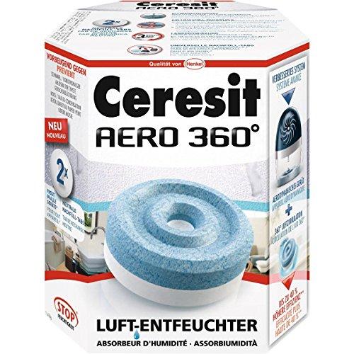 Ceresit AERO 360 Luftentfeuchter Nachfülltabs, 2 x 450g