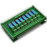 ELECTRONICS-SALON montaje en carril DIN 8 DPDT de relé del módulo de interfaz, DC5V versión.