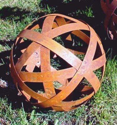 métal boule de bande diamètre 20cm