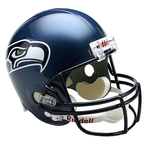 Riddell NFL Arizona Cardinals Deluxe Replica Fußballhelm, Seattle Seahawks, Full Size