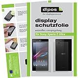 dipos I 4X Schutzfolie matt passend für Sony Xperia Z Ultra Folie Bildschirmschutzfolie