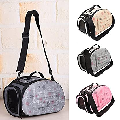 Small Dogs Carrying Bag Foldable Travel Pet Dog Bag Pet Carrier for Dogs Cats Portable Outgoing Handbag Pet Cat Dog… 4