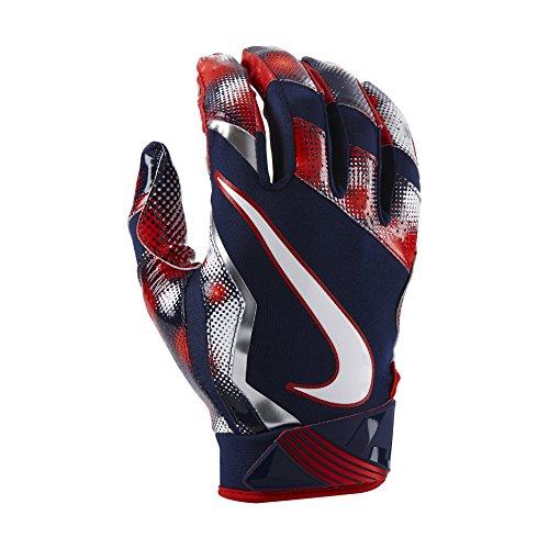 Nike Vapor Jet 4.0 2017 Firecracker American Football Handschuhe - XX-Large