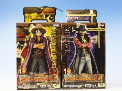Banpresto - Figurine One Piece The Grandline Men vol.3 Mihawk