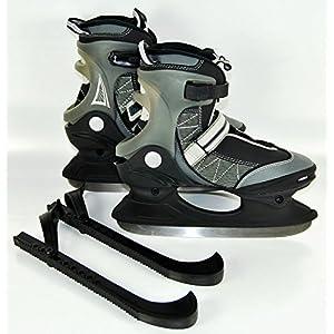 Schlittschuhe Schlitt Schuhe Eishockey Eislaufen Schlittschuh Kufenschützer Aufbewahrungstasche