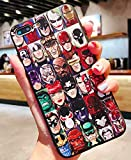 Art-design Coque iPhone 7 et iPhone 8 Batman Superman Spiderman Catwoman Captain America Hulk Iron Man Thor Flash Comics Marvel Super Heros Silicone Souple