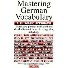 Mastering German Vocabulary (Mastering Vocabulary)