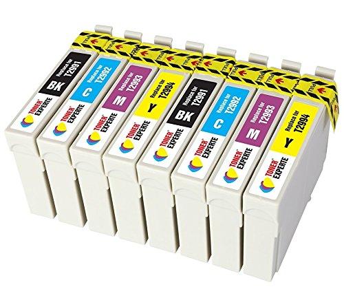 TONER EXPERTE® 8er Set Druckerpatronen kompatibel für Epson 29XL 29 T2991-4 Expression Home XP-235 XP-335 XP-435 XP-245 XP-247 XP-342 XP-442 XP-445 XP-332 XP-352 XP-255 XP-257 | hohe Kapazität -
