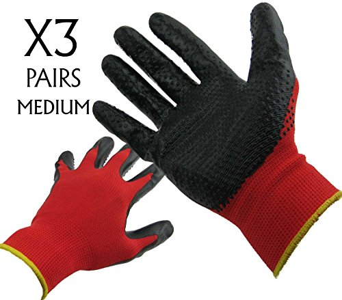 gloves-3-pairs-medium-size-super-grip-breathable-for-gardening-diy-mechanics-building-and-garage-wor