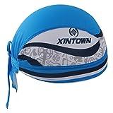GWELL Bandana Cap Atmungsaktiv Kopftuch Bikertuch UV Schutz Fahrrad Erwachsene