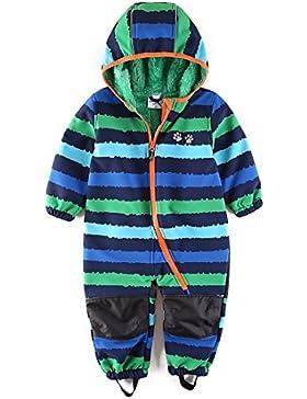 umkaumka Wasserdichter Schneeanzug, Skioverall mit Fleecefutter für Kleinkind/Jungen, für Kinderwagen und Spielen...