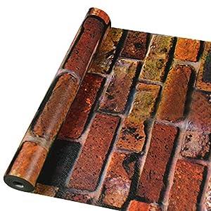 Tapeten wohnzimmer steinoptik deine for Wandfolie selbstklebend
