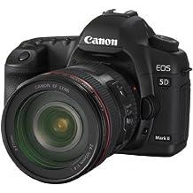 Canon EOS 5D Appareil photo numérique Réflex Kit Boîtier + Objectif 24-105 IS USM 21,1 Mpix Noir