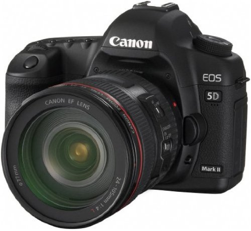 Canon EOS 5D Mark II SLR-Digitalkamera (21 Megapixel) inkl. EF 24-105mm L IS USM Objektiv (bildstabilisiert) Digital Still Camera Kit