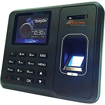 Realtime Biometric Fingerprint Based Time and Attendance System (T5)