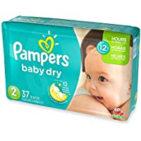 3couches de protection, Jumbo Lot Taille 2couches jetables, (37-count) par Pampers