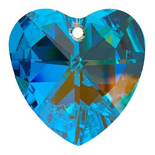 Ambros® Pendentif «Cœur» Ø 40 mm cristal AB 30 % PbO ~ Fengshui Suncatcher