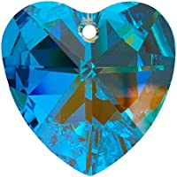 "AMBROS® Kristall ""Herz"" Ø 40mm Crystal AB 30%PbO ~ Fengshui Suncatcher"