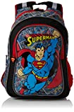BB DesignsSuperman Junior BackpackUnisex NiñosMochilasRojo (Red)37x43x15 Centimeters (W x H x L)