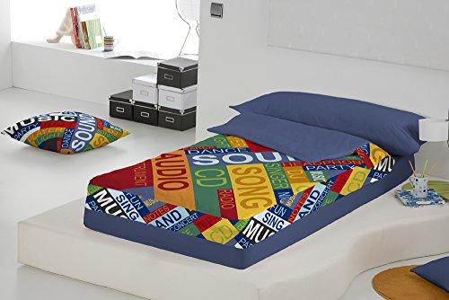 Saco n rdico tacto p talo sound cama de 90 para cama de 90 190 200 - Saco nordico cama 90 ...