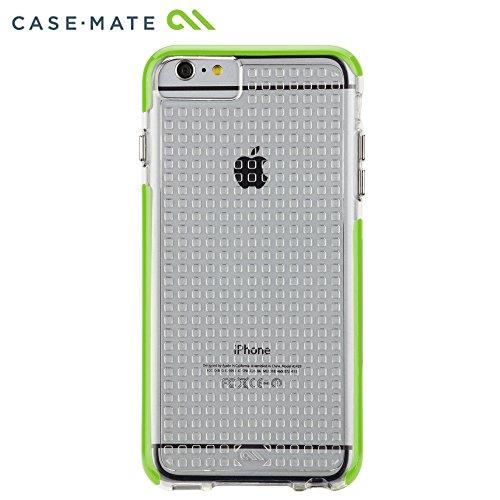 Case-Mate Tough Air Schutzhülle für Apple iPhone 6 Plus 13,9 cm (5,5 Zoll) transparent/limettengrün Transparent/Limettengrün