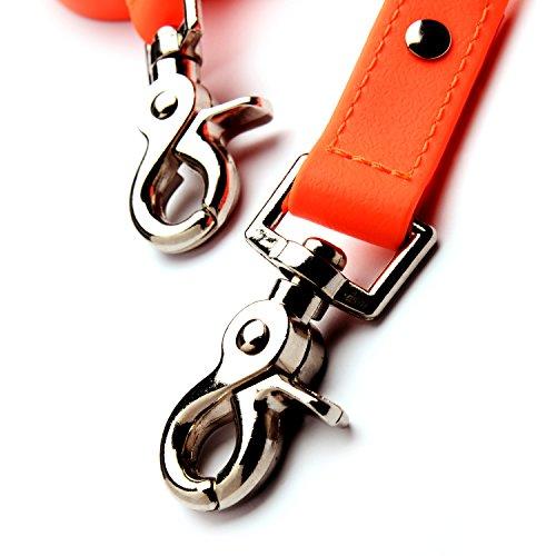 PetTec Schleppleine 10m aus Trioflex – Hundeleine in Orange - 6