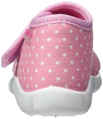 Fischer Flexi, Chaussons pour enfant bébé fille Rose